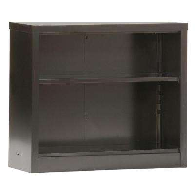 Black Steel Bookcase