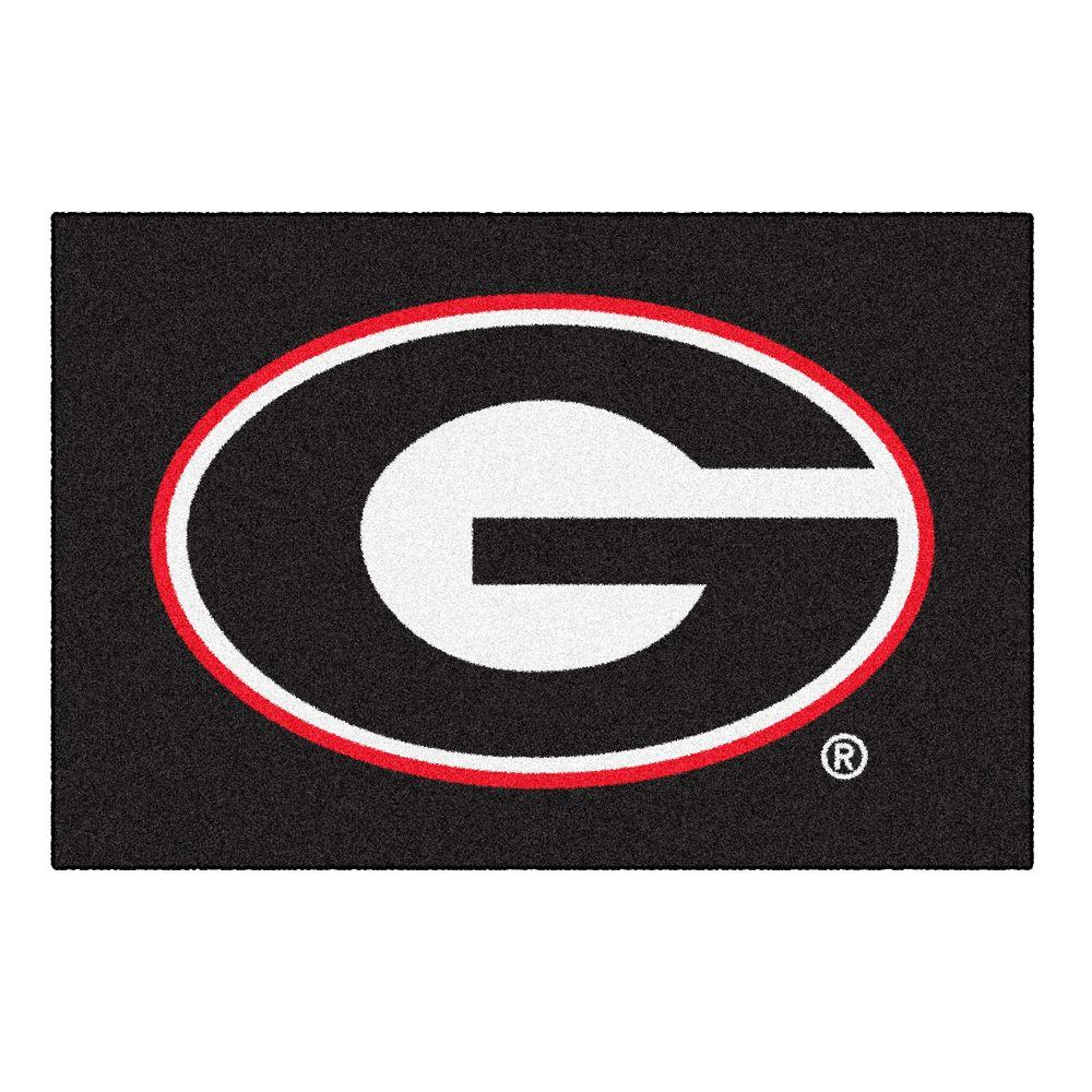 FANMATS University of Georgia 1 ft. 7 in. x 2 ft. 6 in. Accent Rug