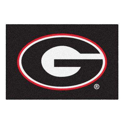 University of Georgia 1 ft. 7 in. x 2 ft. 6 in. Accent Rug