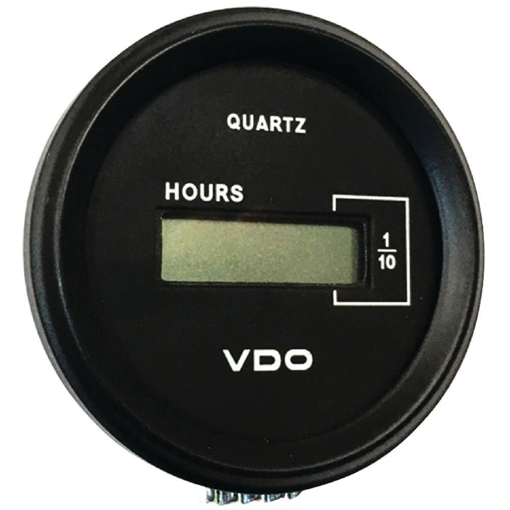 seachoice digital hour meter black 15271 the home depot. Black Bedroom Furniture Sets. Home Design Ideas