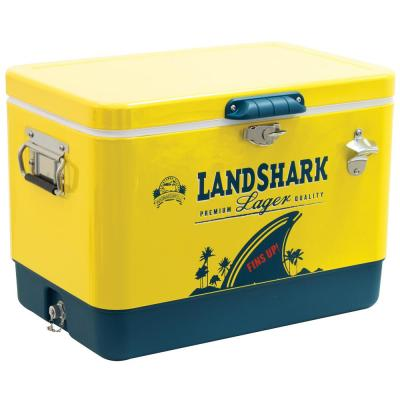 54 Qt. Landshark Lager Painted Cooler