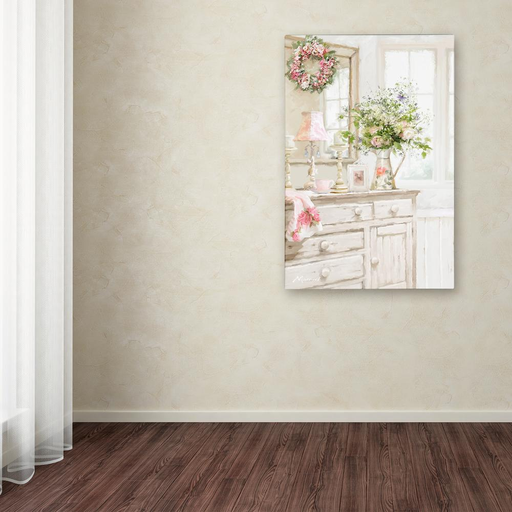 24 In X 16 Shabby Chic By The Macneil Studio Printed Canvas Wall Art