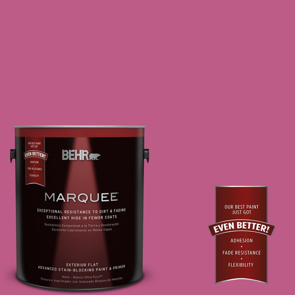 BEHR MARQUEE 1-gal. #P120-5 Beauty Queen Flat Exterior Paint