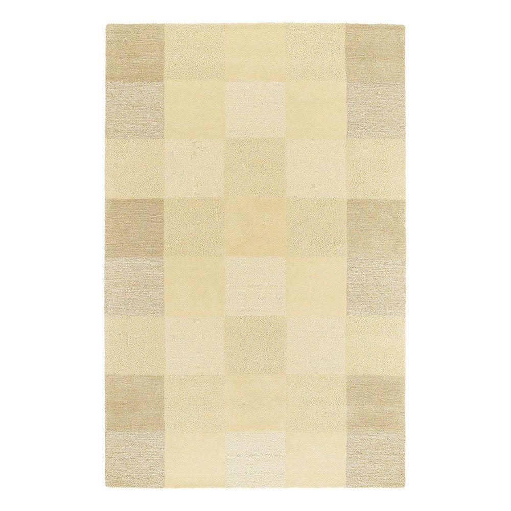 Kaleen Moods Painter's Canvass Sand 8 ft. x 10 ft. Area Rug-DISCONTINUED