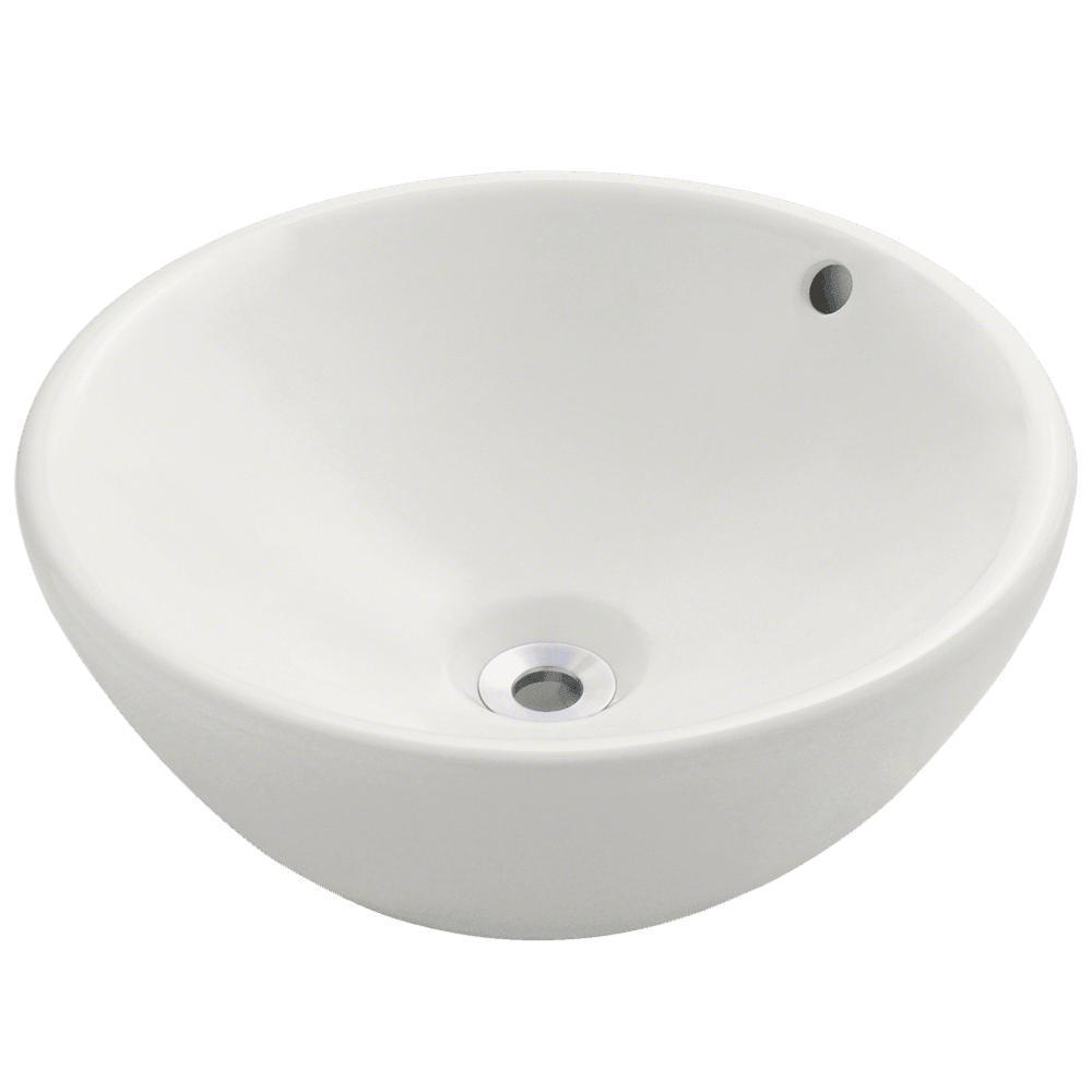 MR Direct Porcelain Vessel Sink in Bisque