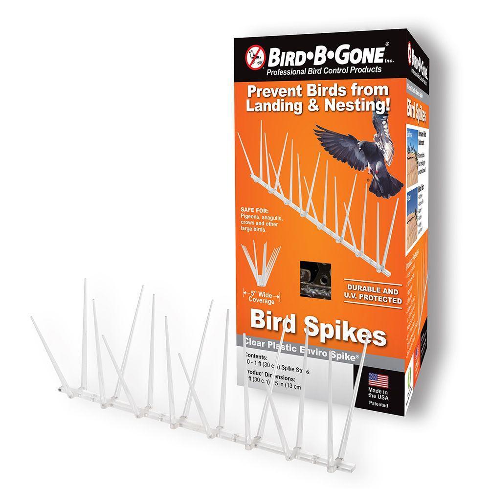Bird B Gone Enviro Spike 10 ft x 5 in Plastic Bird Spikes