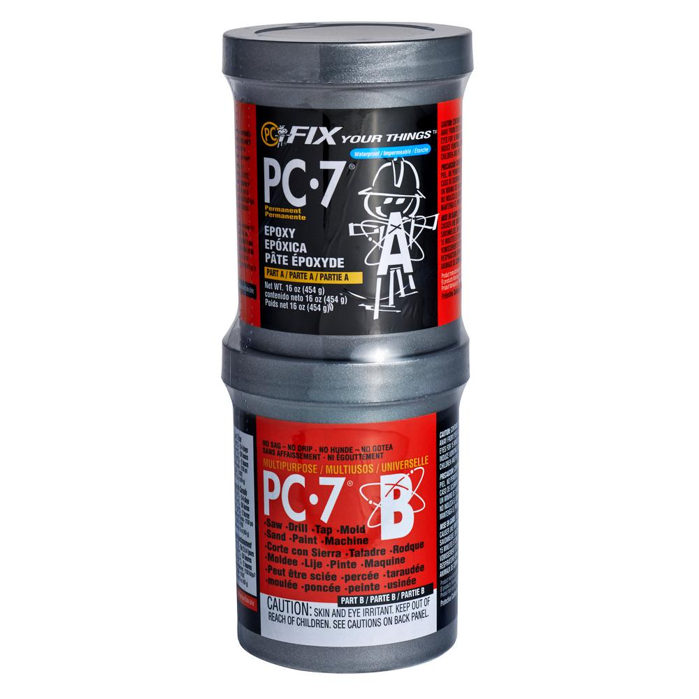 PC Products PC-7 16 oz. Paste Epoxy-167779 - The Home Depot