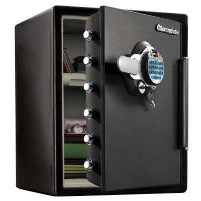 SFW123GTC 2.0 cu ft Fireproof Safe and Waterproof Safe with Biometric Lock