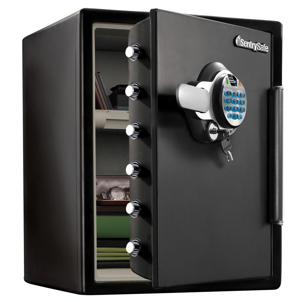 SentrySafe SFW205BXC 2.0 cu ft Fireproof Safe and Waterproof Safe with Biometric Lock