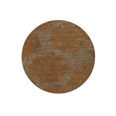 Brunswick Copper 8 ft. x 8 ft. Round Area Rug