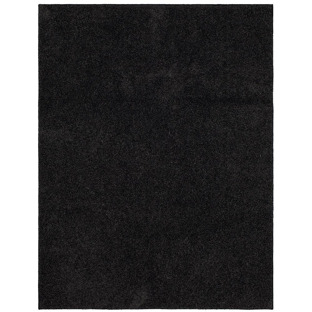 Mohawk Home Mohawk Home Carden Shag Charcoal 6 ft. x 9 ft. Area Rug, Grey