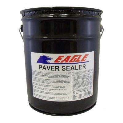5 Gal. Clear Wet Look Solvent Based Acrylic Concrete Paver Sealer