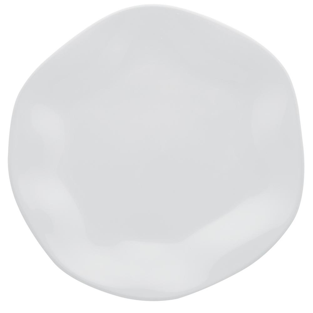 Manhattan Comfort 11.02 in. RYO White Dinner Plates (Set of 12) was $189.99 now $117.3 (38.0% off)