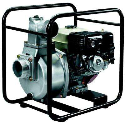 4 in. 7.9 HP Semi-Trash Pump with Honda Engine