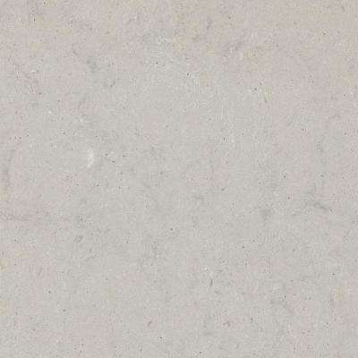 10 in. x 5 in. Quartz Countertop Sample in Georgian Bluffs