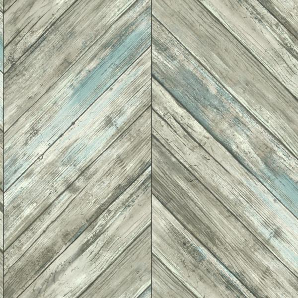 York Wallcoverings Herringbone Wood Boards Wallpaper CM3337