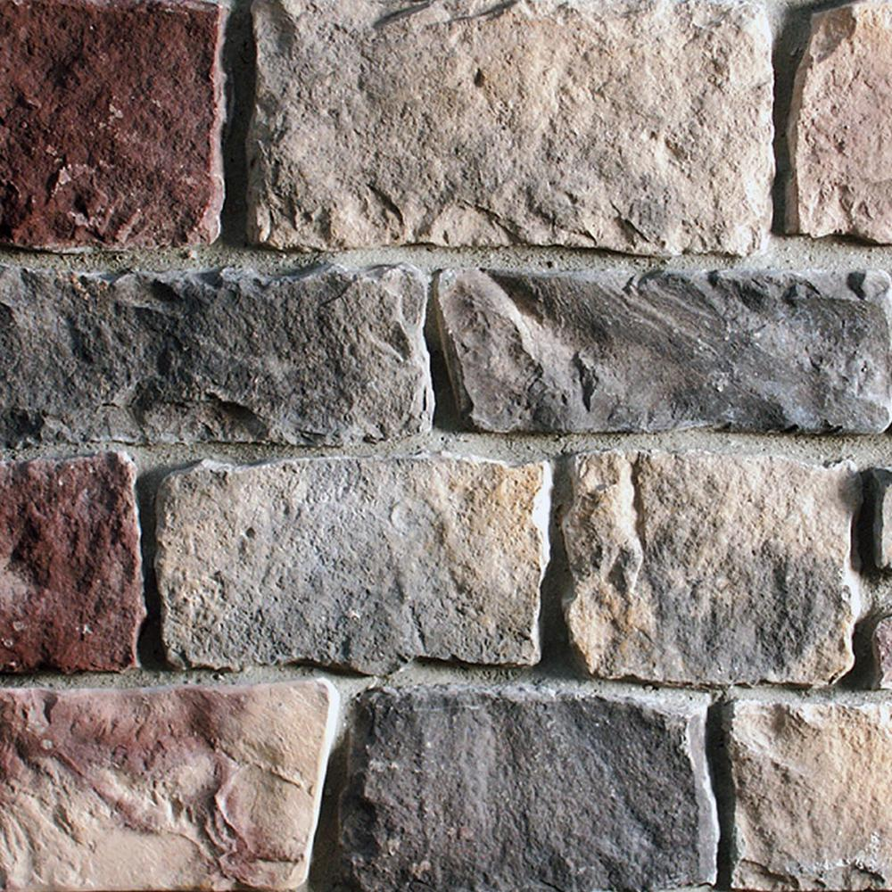 Environmental StoneWorks New England Cut Stone 5 in. x 13 in. Manufactured Stone Cut Stone Flat Siding 11 sf. ft. Pack
