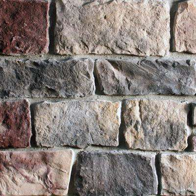 New England Cut Stone 5 in. x 13 in. Manufactured Stone Cut Stone Flat Siding 11 sf. ft. Pack