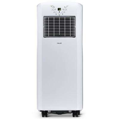10,000 BTU (6,000 BTU, DOE) Portable Air Conditioner Cover 325 sq. ft. with Easy Setup Window Venting Kit - White