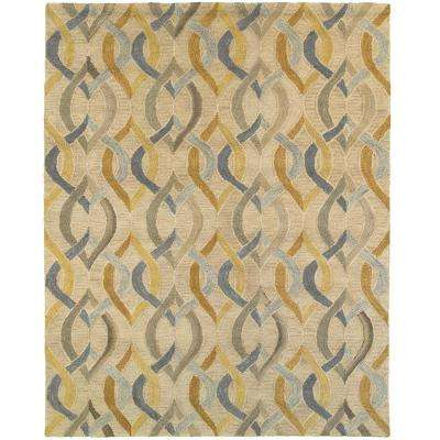 Integrity Wounded Warrior Donator Honey Gold 5 ft. x 7 ft. 9 in. Indoor Area Rug