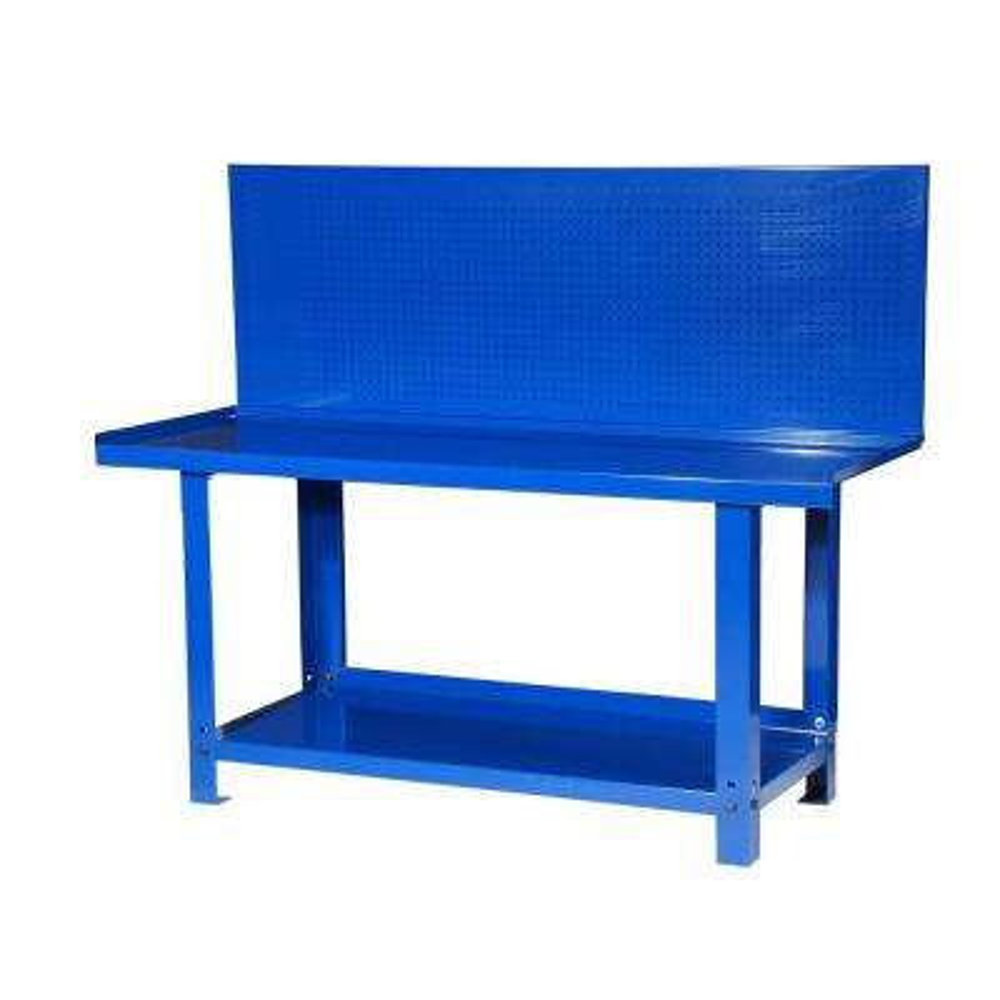 Heavy Duty H133 Workbench with Peg Board, Blue