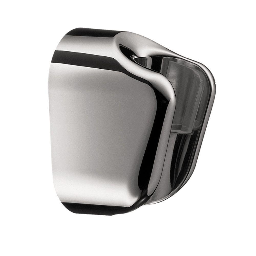 Hansgrohe Porter E Hand Shower Holder In Chrome 28321003   The Home Depot