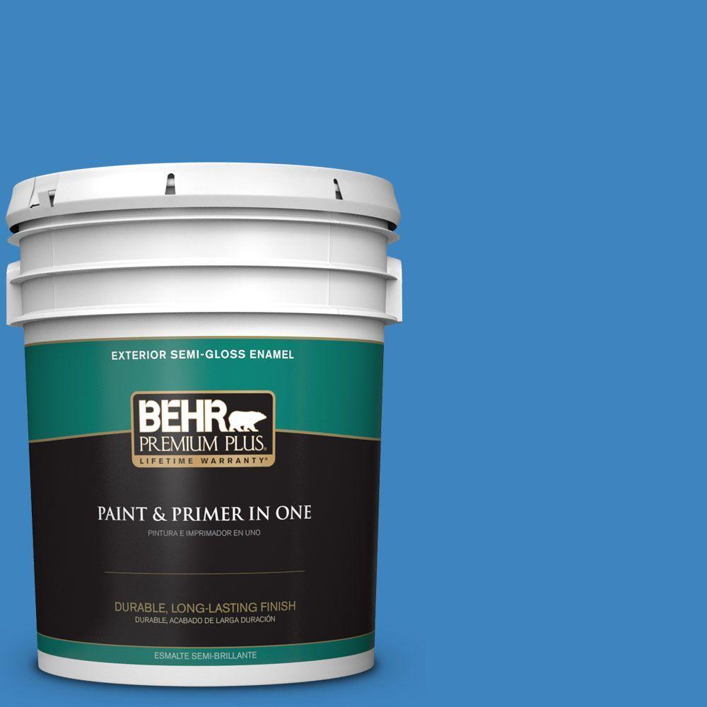 5-gal. #560B-6 Warm Spring Semi-Gloss Enamel Exterior Paint