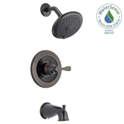 porter single handle 3 spray tub and shower faucet in oil rubbed bronze - Bathroom Faucets Home Depot