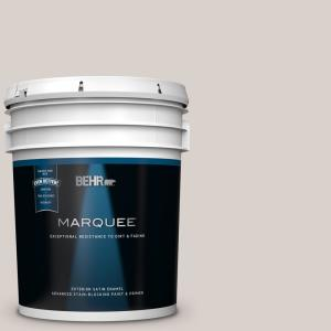 Behr Marquee 5 Gal N320 2 Toasty Gray Satin Enamel Exterior Paint And Primer In One 945005 The Home Depot