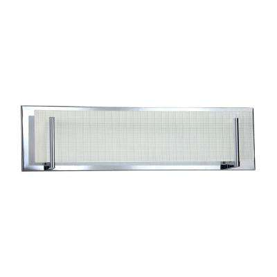 Cassiopeia 4-Light Ceiling Chrome Incandescent Vanity