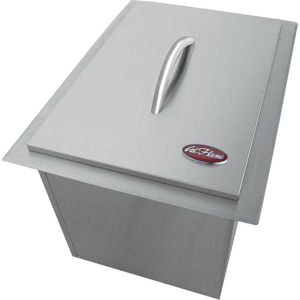 Cal Flame Modular Outdoor Kitchen Modular Ice Maker Stainless Steel | BBQ14864