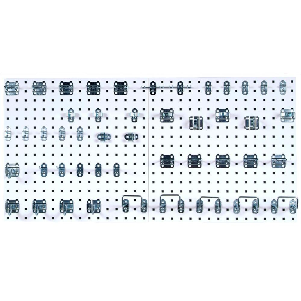 Triton Products LocBoard (2) 24 in. x 24 in. x 9/16 in. W...