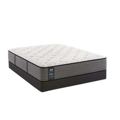 Response Performance 12.5 in. King Plush Tight Top Mattress Set with 9 in. High Profile Foundation