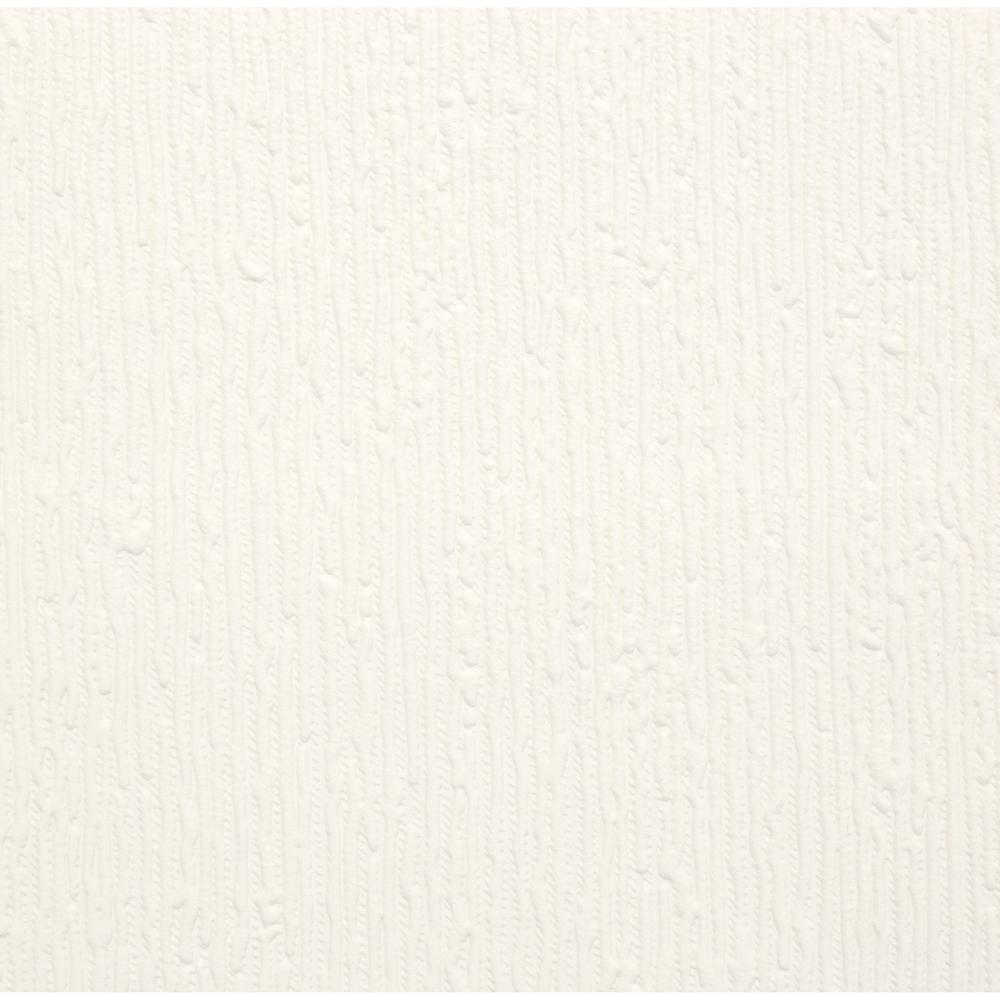 GrahamBrown Graham & Brown Stria Paintable White Wallpaper