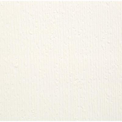 Stria Paintable White Wallpaper