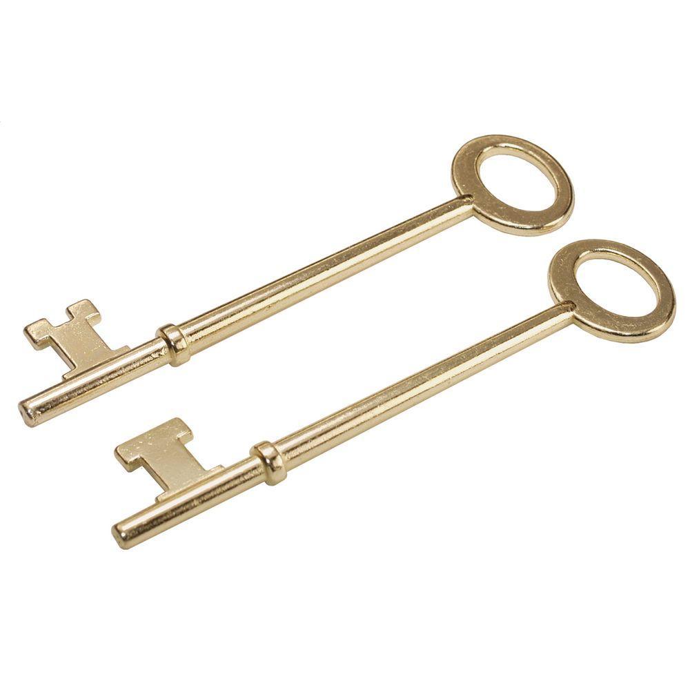 The Hillman Group Skeleton Keys (2-Pack)