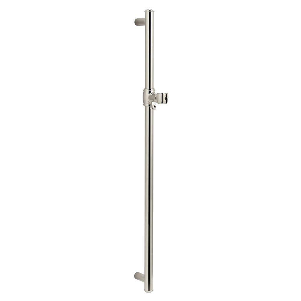 KOHLER Artifacts 30 in. Shower Slide Bar in Vibrant Polished Nickel
