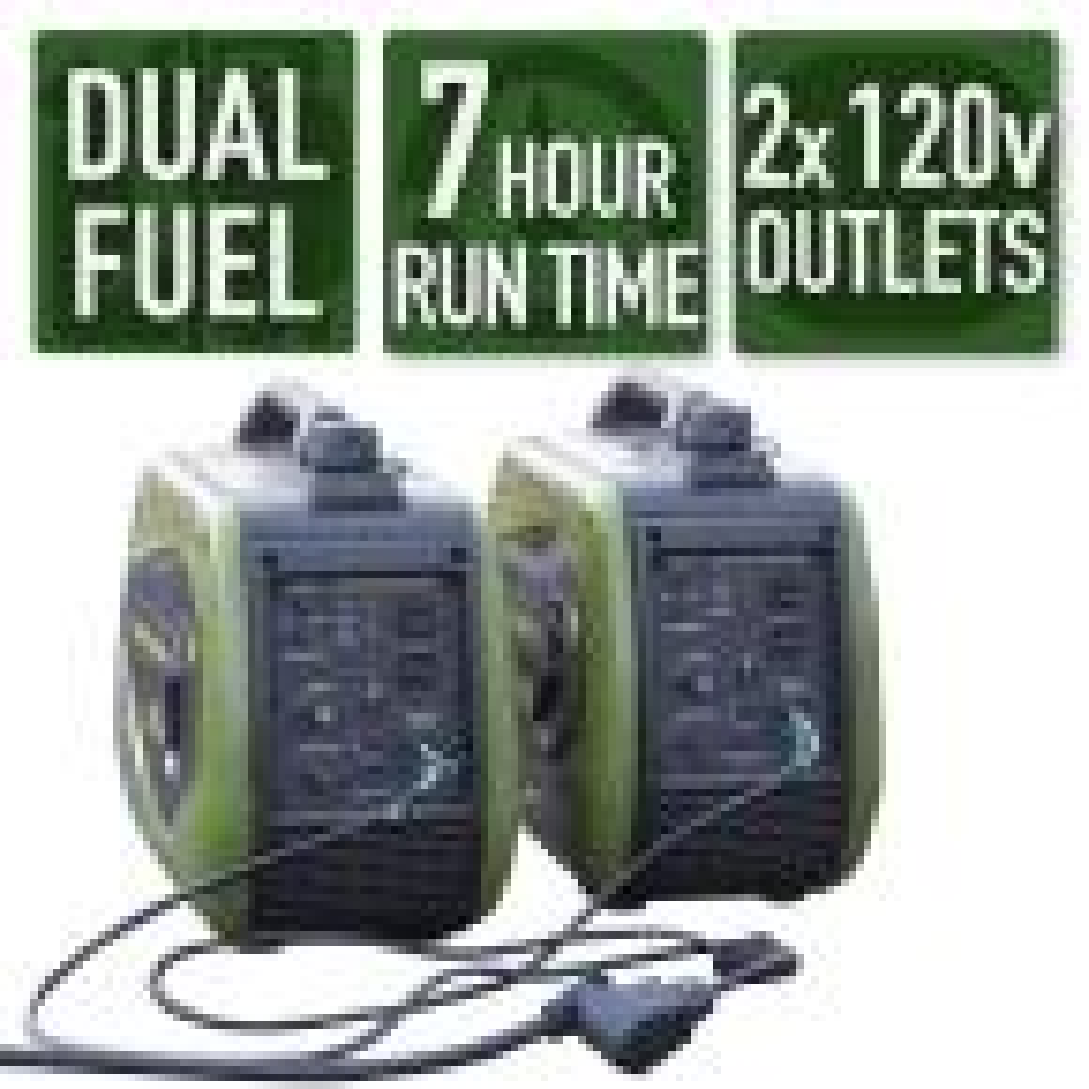 Sportsman 4,400/3,600-Watt Dual Fuel Portable Digital Inverter Generator
