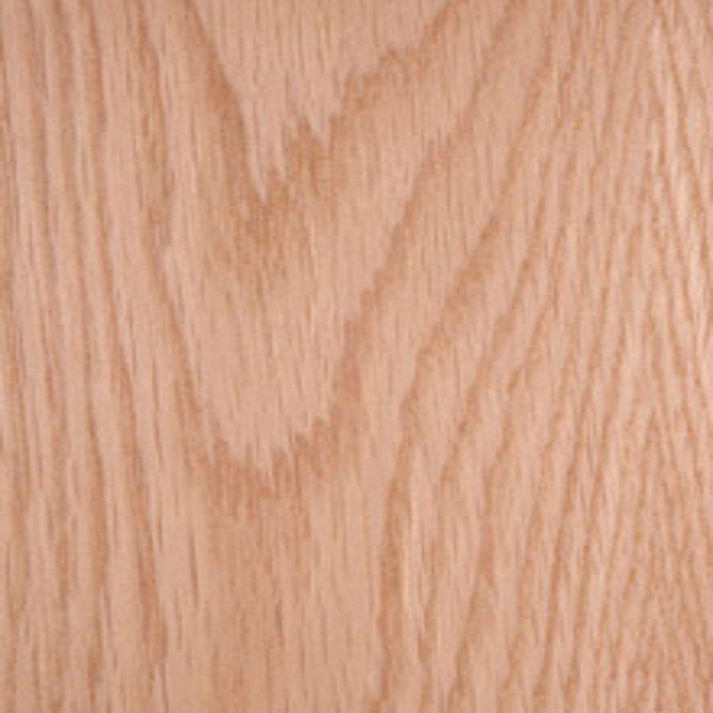 Edgemate 48 in. x 96 in. White Oak Wood Veneer with 10 mil ...