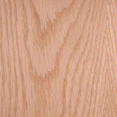 Edgemate 48 in. x 96 in. White Oak Wood Veneer with 10 mil Paper Backer