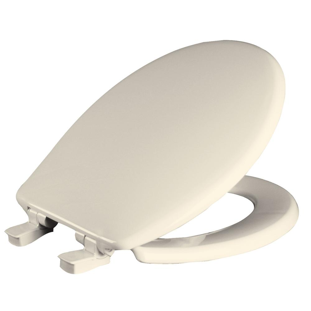 Church Whisper Close Round Closed Front Toilet Seat In