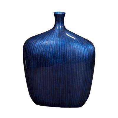 Sleek Cobalt Blue Vase - Medium