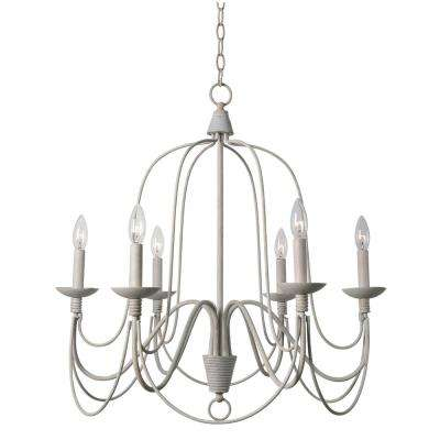 Relatively White - Farmhouse - Chandeliers - Lighting - The Home Depot QF84