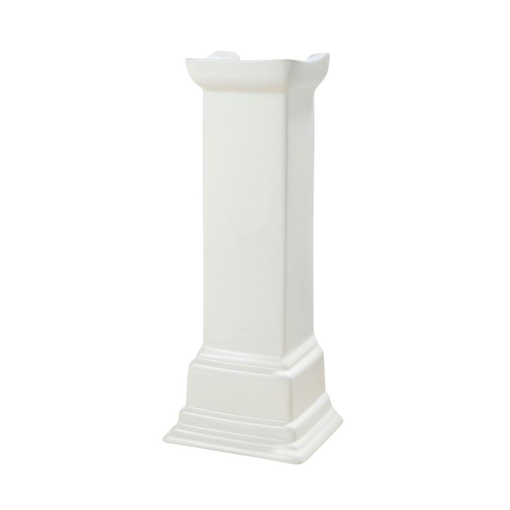 Structure Suite Pedestal Lavatory Leg in Biscuit