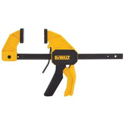 12 in. 100 lb. Trigger Clamp w/2.43 in. Throat Depth