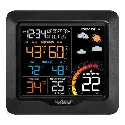 Color Wind Speed Weather Station with Wind and Outdoor Sensor