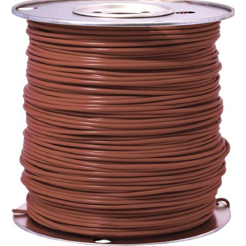 1000 ft. 14 Brown Stranded CU GPT Primary Auto Wire