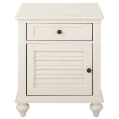Hamilton Polar White Side Table