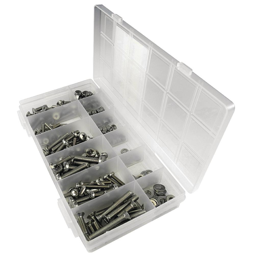 Metric Machine Screw Kit (240-Piece)