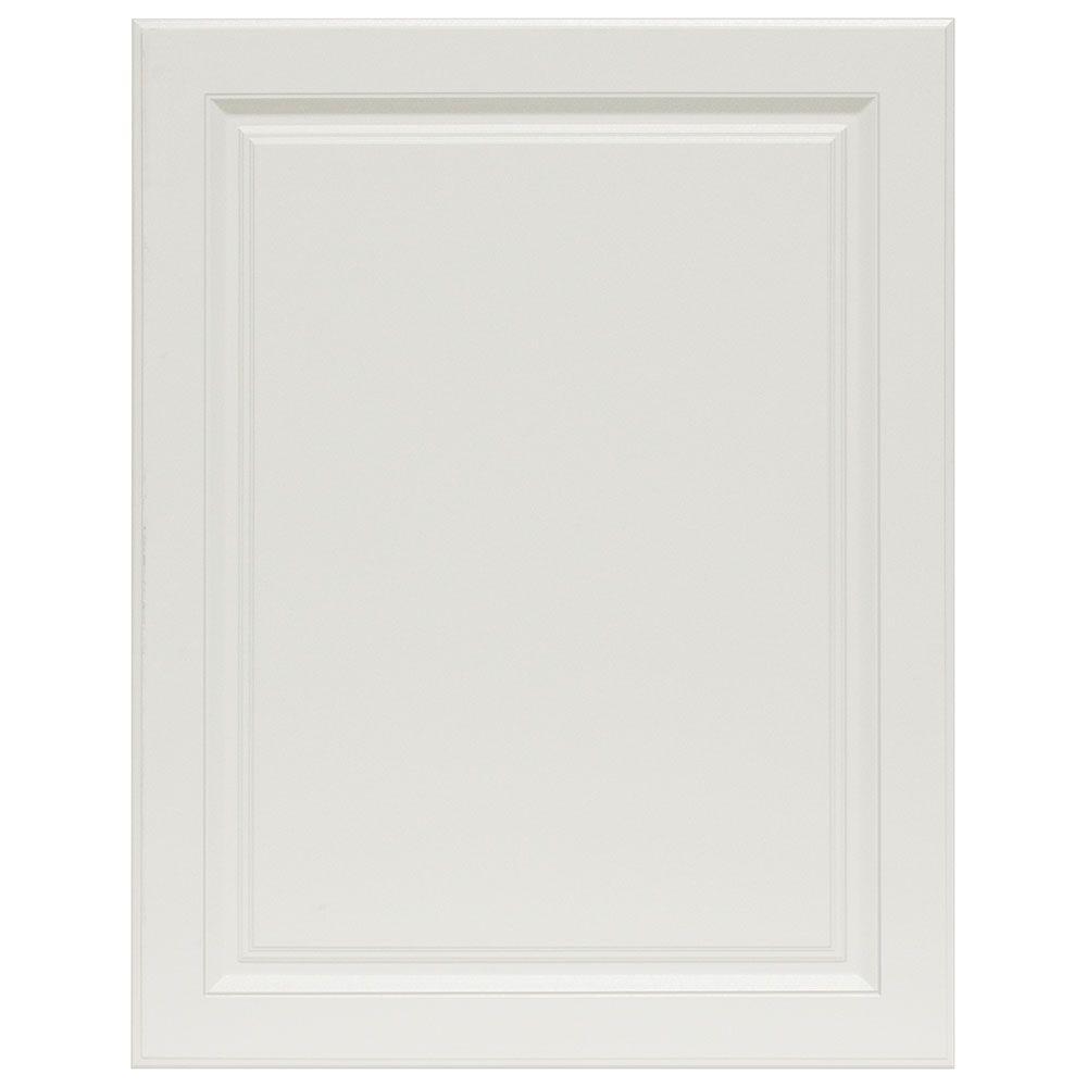 Hampton Bay 0.625x30x23 in. Hampton Base Cabinet Decorative End Panel in Satin White-KAEP2430-SW ...